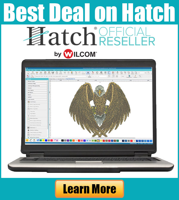 Hatch Embroidery Software Best Deal