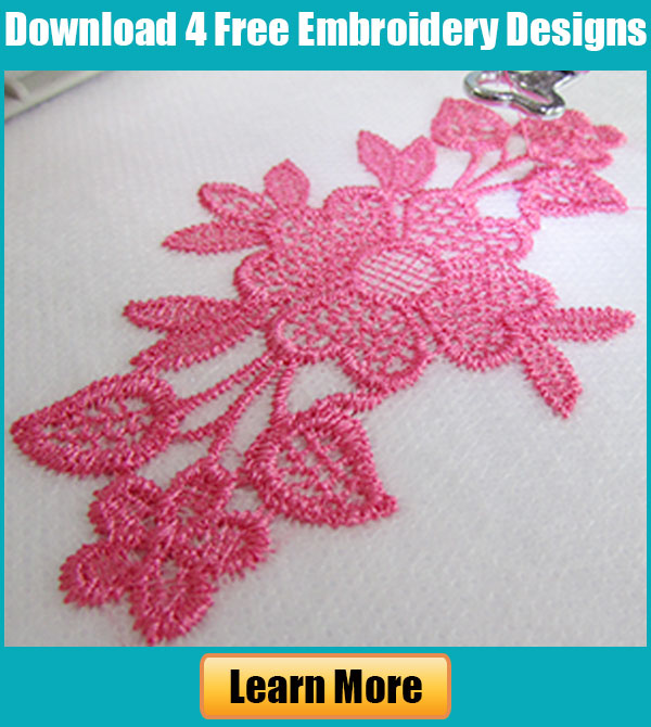 Free Embroidery Legacy Design Kit
