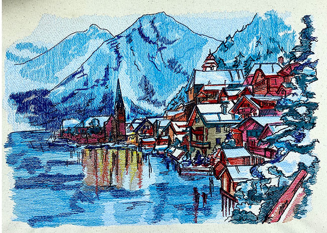 Hallstatt sew out