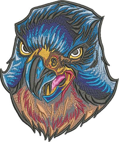 falcon head mascot