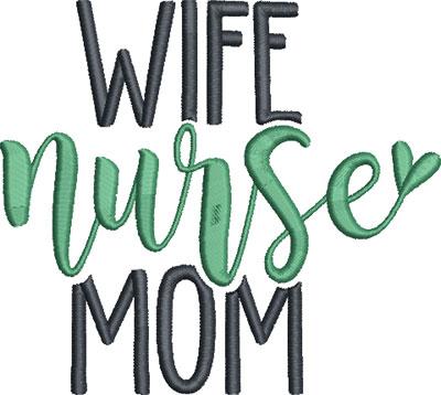 nurse embroidery design 10