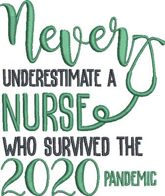 nurse embroidery design 11