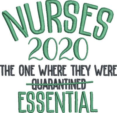nurse embroidery design 16
