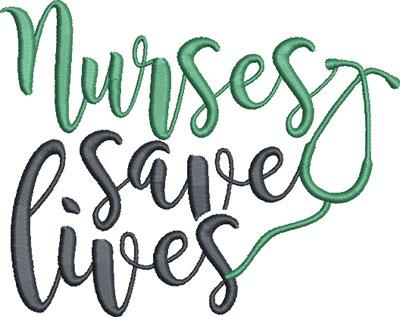 nurse embroidery design 20