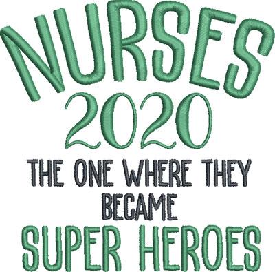 nurse embroidery design 7