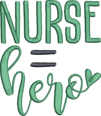 nurse embroidery design 8
