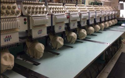Our commercial embroidery factory