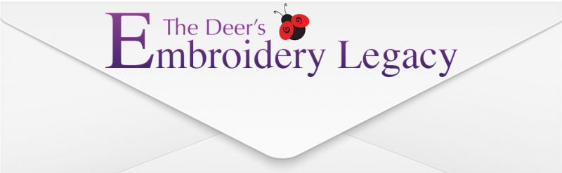 Embroidery Legacy Newsletter