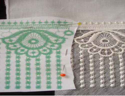 How To Embroider Continuous Freestanding Lace
