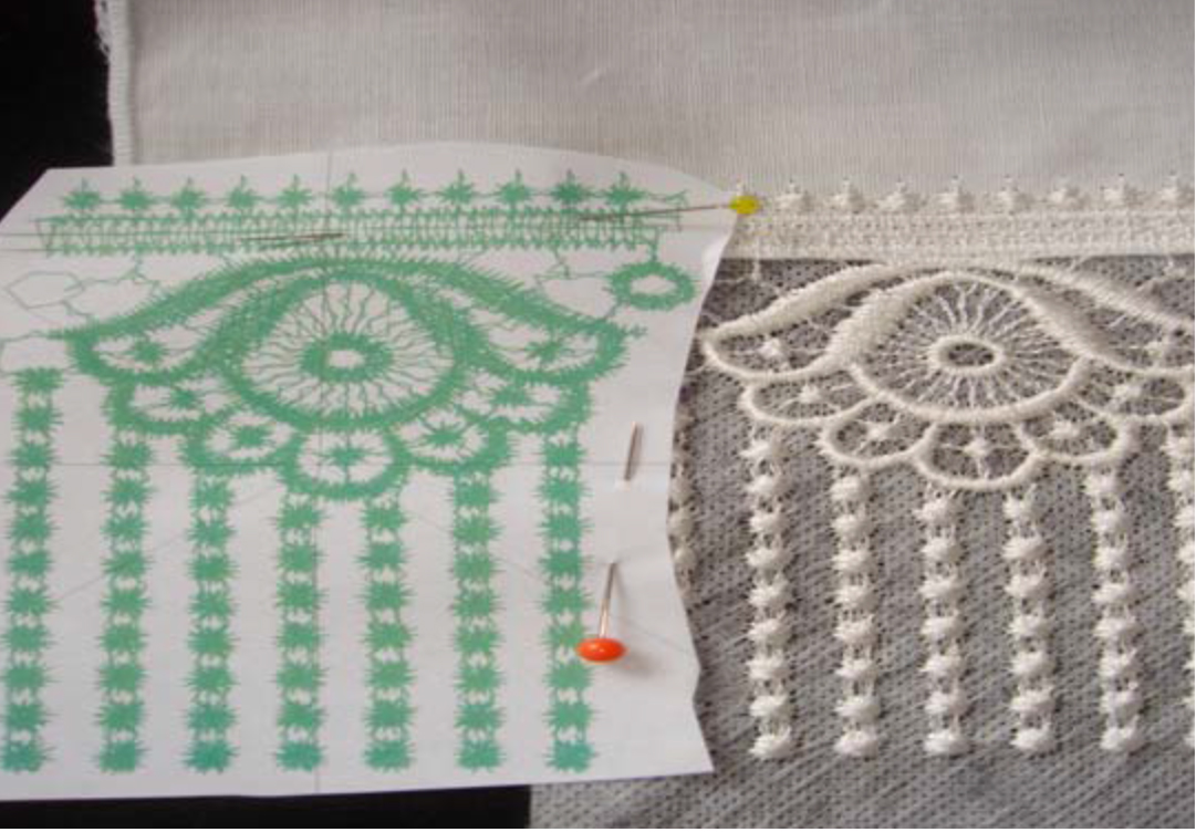 how to embroider freestanding lace