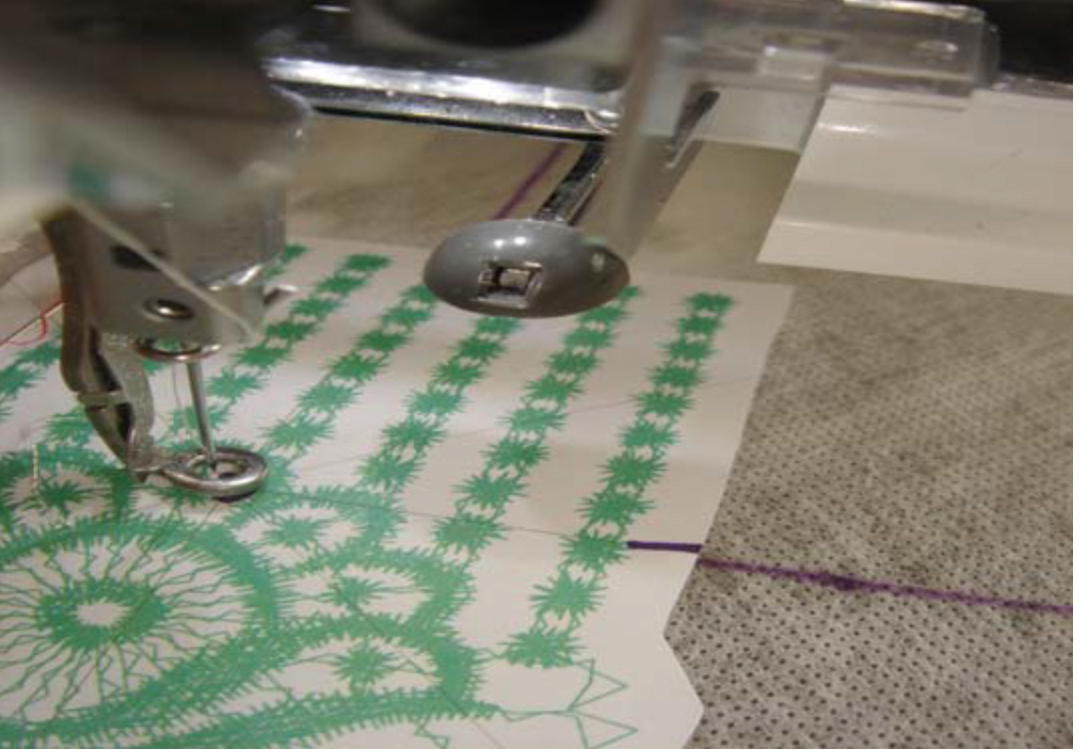 machine embroidery lace template