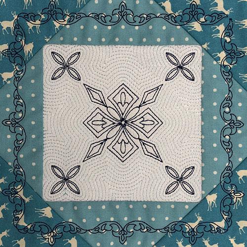 digitizing challenge quilt block design