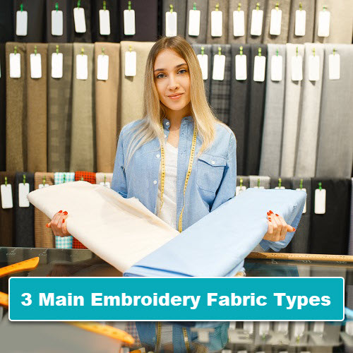 Main Machine Embroidery Fabric Types