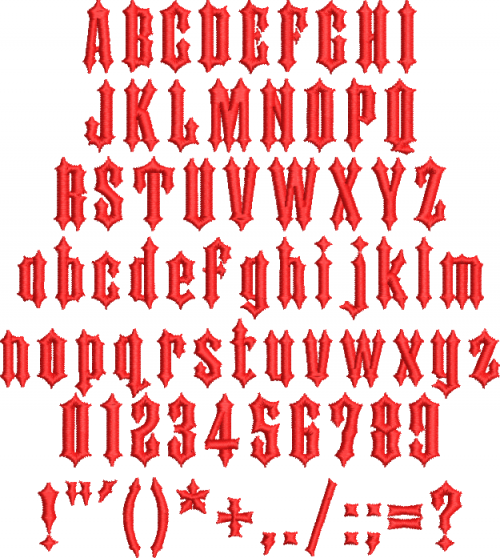 iron horse esa font