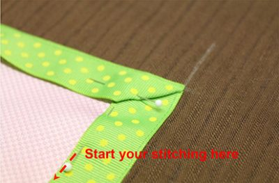 Pinning Edge Ribbon