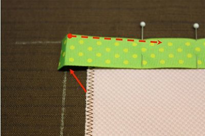 Turn Under Edge Ribbon