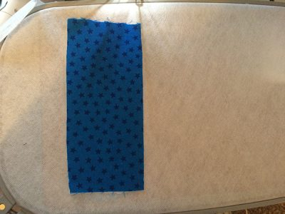 fabric on stabilizer