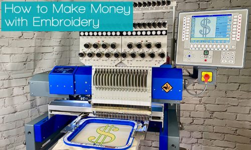 How to Make Money with Embroidery