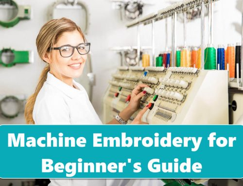 Machine Embroidery for Beginners | Complete Guide & Video Classes