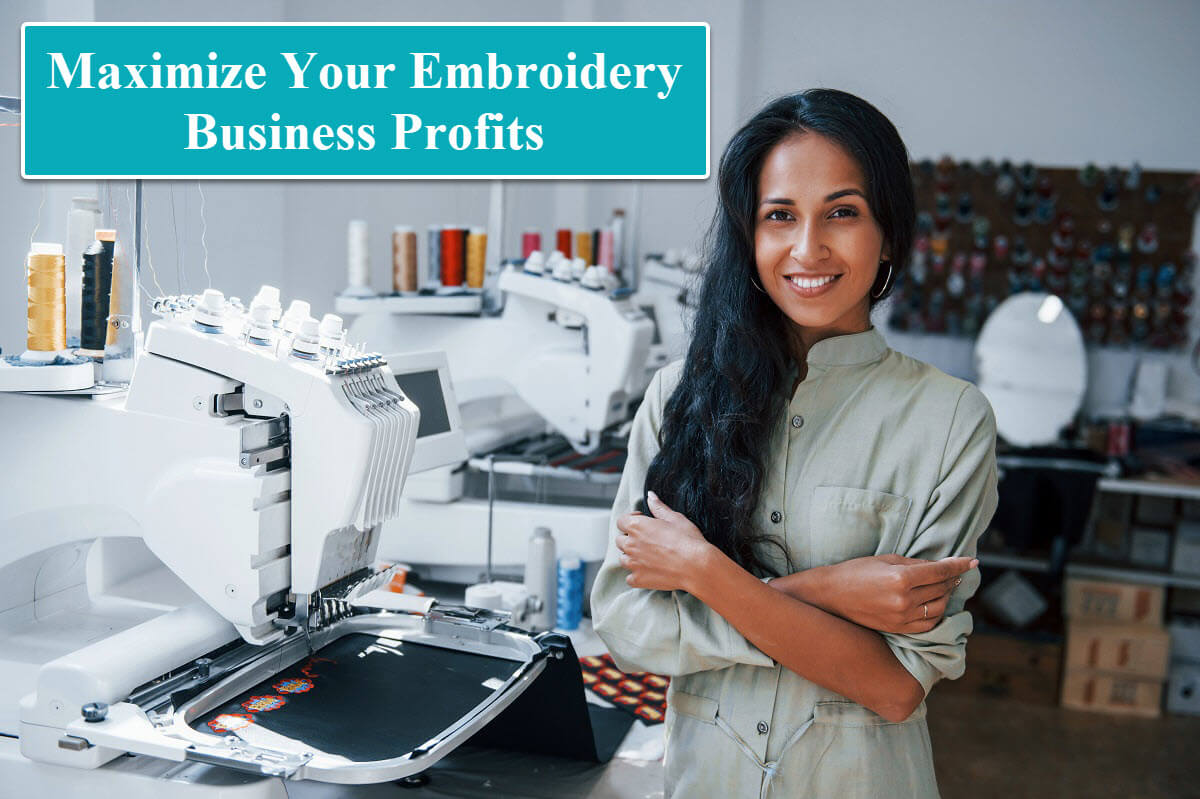embroidery business owner
