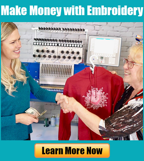 Embroidery Business Webinar