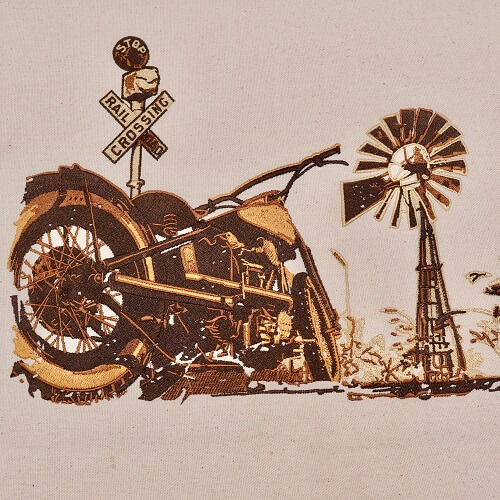 Motorcycle Large Legacy Collection Design