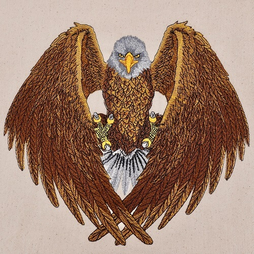 Fighting Eagle Large Legacy Collection Design