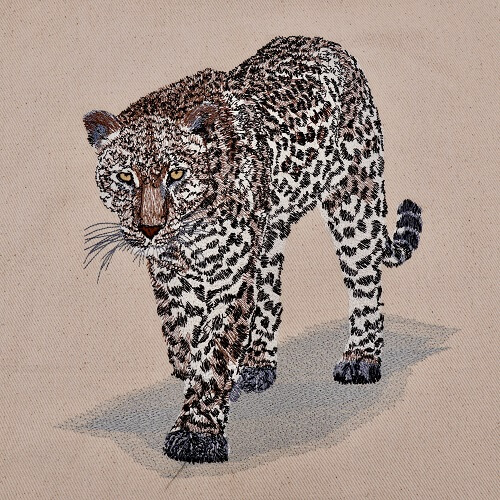 Leopard Large Legacy Embroidery Design