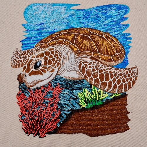 Sea Turtle Large Legacy Collection Design