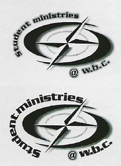 embroidery logo layout changes
