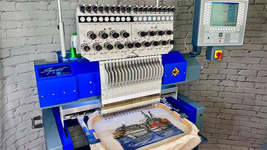 zsk machine embroidery