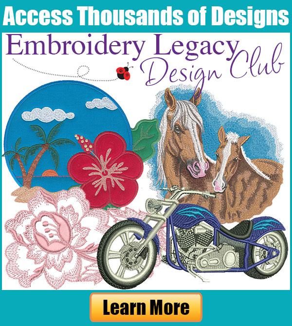 EmbroideryLegacyDesignClub