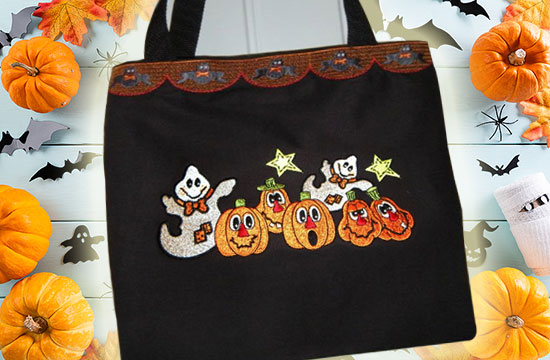 easy diy halloween trick or treat bag