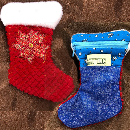ITH Christmas Stocking Embroidery Project