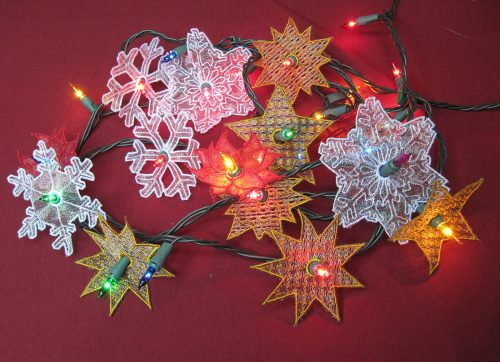 christmas string lights project