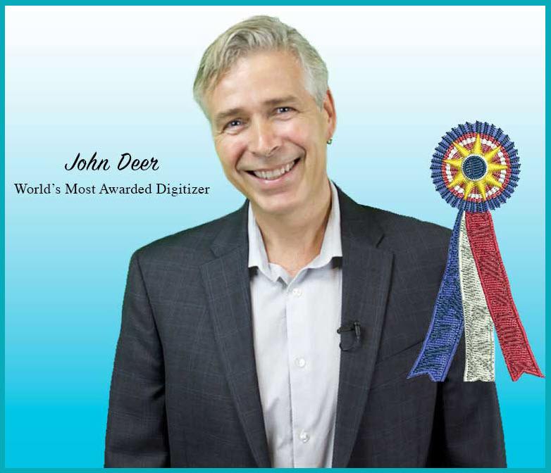 John Deer; Owner of Embroidery Legacy