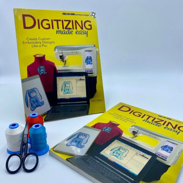 Embroidery Digitizing Made Easy Book