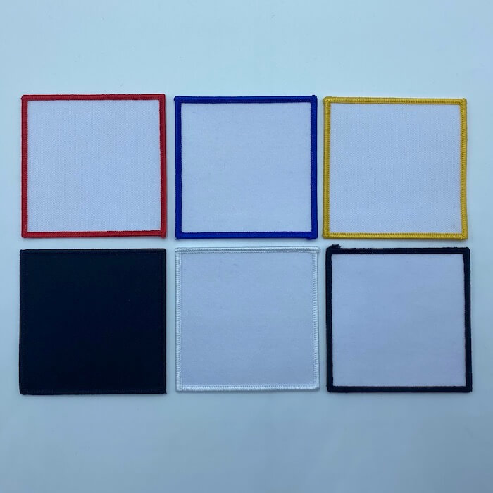 ready made square patches