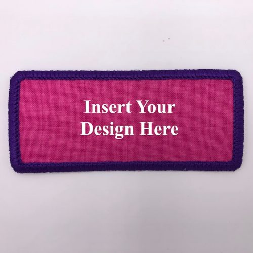rectangle round embroidery design file insert