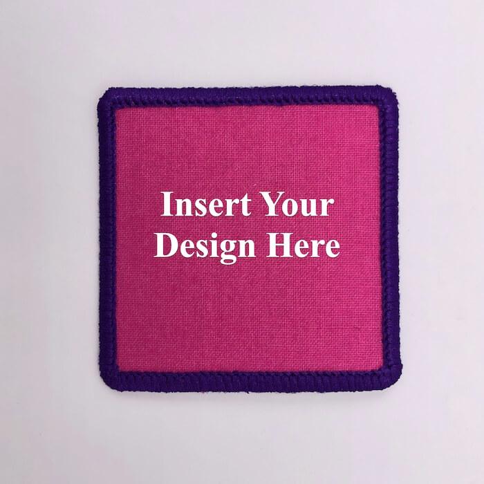 square round embroidery design file insert
