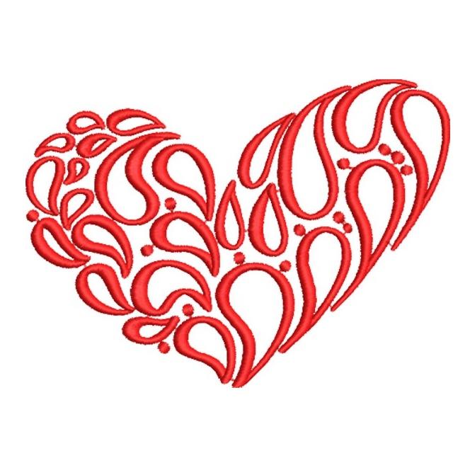 Artistic Heart Design