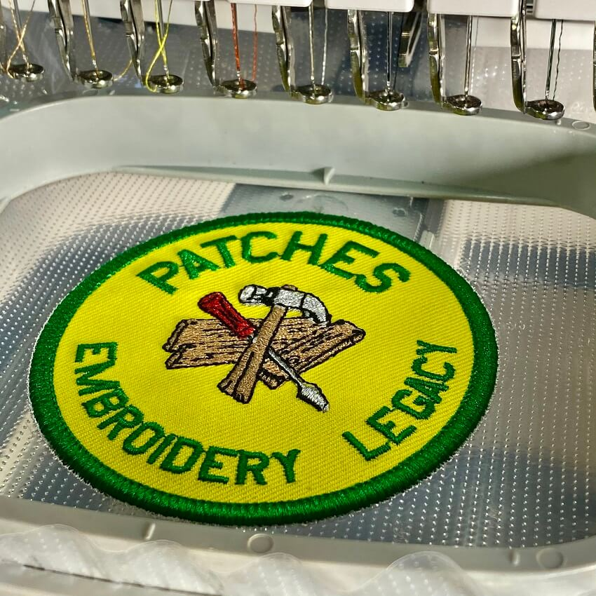 Embroidery Patch Design Files