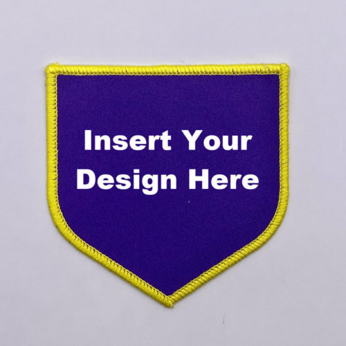 Embroidery Patch Design Shield 1