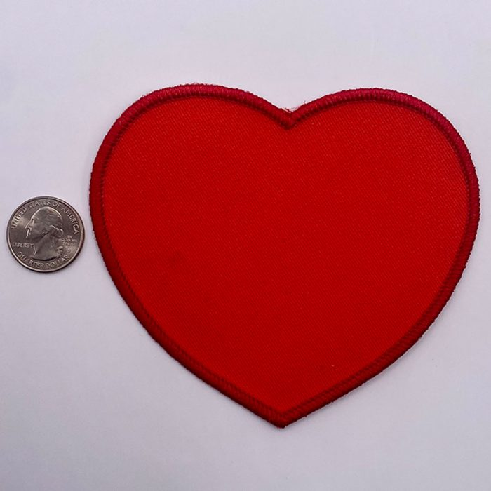 DIY heart patch