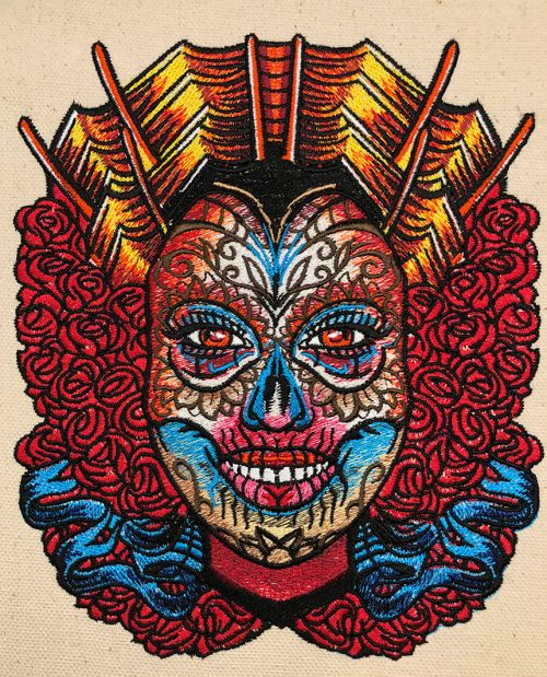 female sugarskull sewout