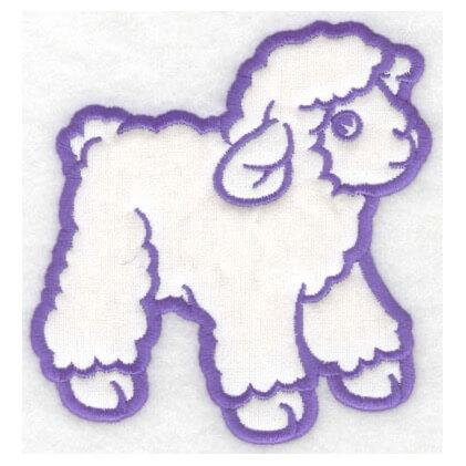 Lamb Applique