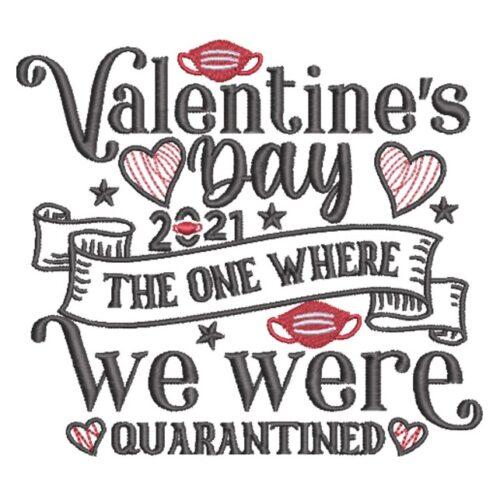 Valentine's Day Quarantined