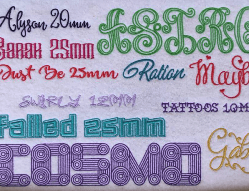 ESA Embroidery Fonts for Hatch & Wilcom Software | Beginners Guide