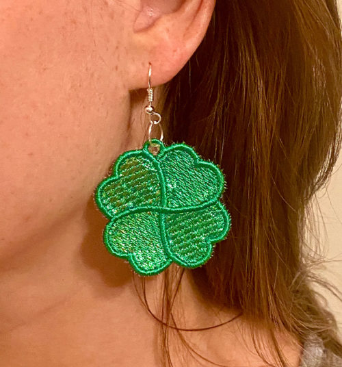 st. patricks day earrings