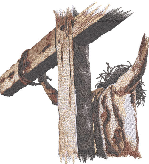 Easter Jesus embroidery design